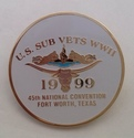 1999 USA Submariners Conference Badge