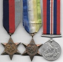 Royal Navy Atlantic Star Medal Group KIA