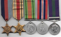 WW2 / Palestine GSM Medal Group