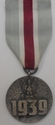 Poland 1939 War Medal