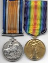 South Africa WW1 Medal Pair