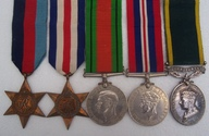WW2 Territorial Medal Group Royal Artillery