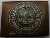 German WW1 Belt Buckle