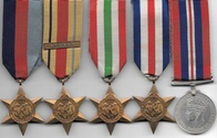 WW2 8th Army Medal Group A.S.C.