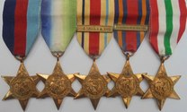 WW2 Burma Star Pacific Clasp Medal Group