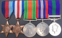 World War 2 D-Day Medal Group