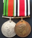 WW2 Police Special Constabulary Medal Pair